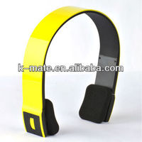 Bluetooth stereo headset with adjustable headband, bluetooth music headset for sport, wireless music headset