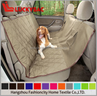 2016 Lastest design pet pvc car seat cover for sale