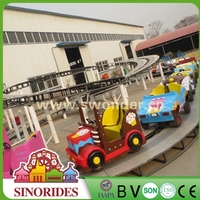 amusement park children games kids train electric mini bus