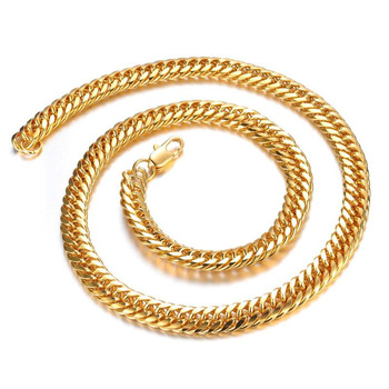 TY-KX627-G latest design beads necklace men gold chains necklace wholesale