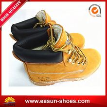 Good prices safety shoes brand name safety shoes buffalo leather safety shoes camel