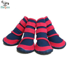 Fashion Oxford Bottom Pet Non Slip Shoes Durable Large Dog Waterproof Boots