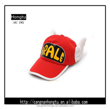 red child angel wing embroidery baseball cap