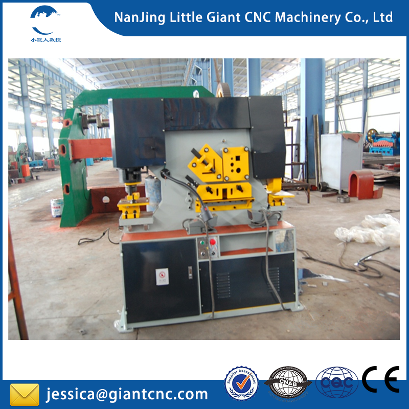 Hydraulic Ironworker , Steel Iron Worker , Q35Y-25 Multi-Function Iron Worker Machine