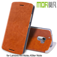 MOFi 2016 Flip Cover for Lenovo K4 Note, Killer Note, Mobile Phone Leather Case for Lenovo Lemon K4 note cover