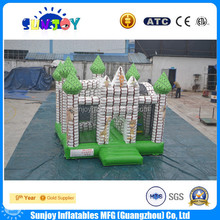 Best quality customized indoor inflatable frozen combo castle bouncer game