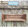 Rustic Wood CRATE SHELF By English Chestnut Shelving Custom Sizes Colors Also Use As Table Riser Desk Organizer