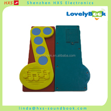 Children Love Hot Selling Music Cartoon Book With Sound Pad