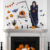 Removable waterproof Halloween festival Vinyl sticker wall home decoration wall sticker