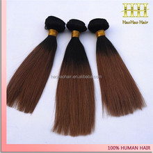 Hot new products for 2015 Double weft top quality 100% brazilian remy virgin straight vietnam hair