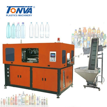 2L 6cavities PET water bottle stretch blow molding machine