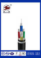 PVC Sheath PVC Insulation Unarmoured Power Cable