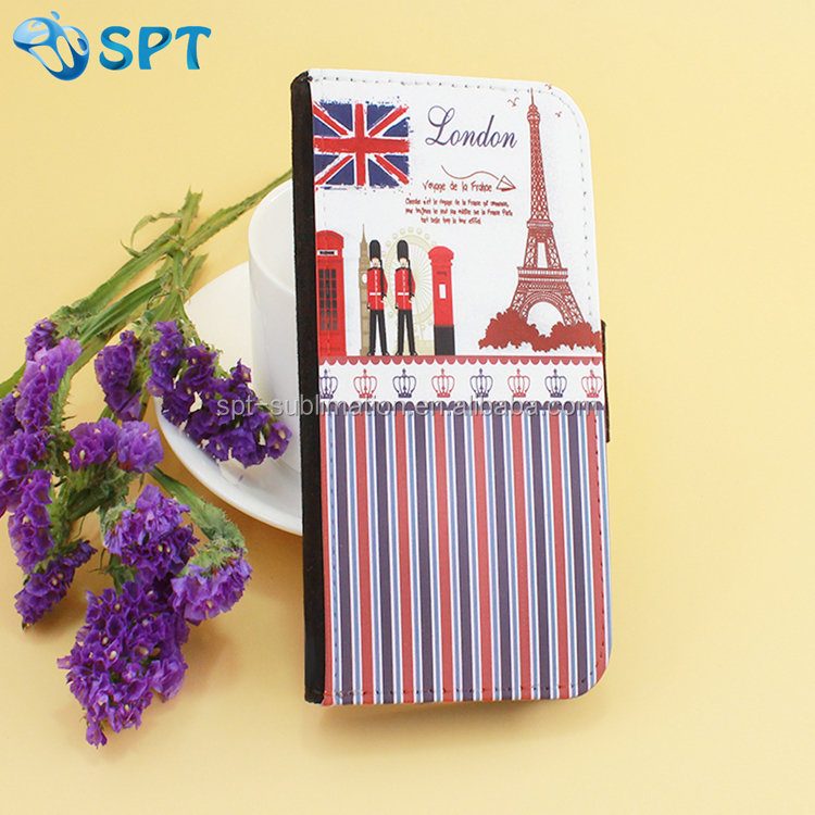 digital printing Leather cell phone case for sony Ericsson