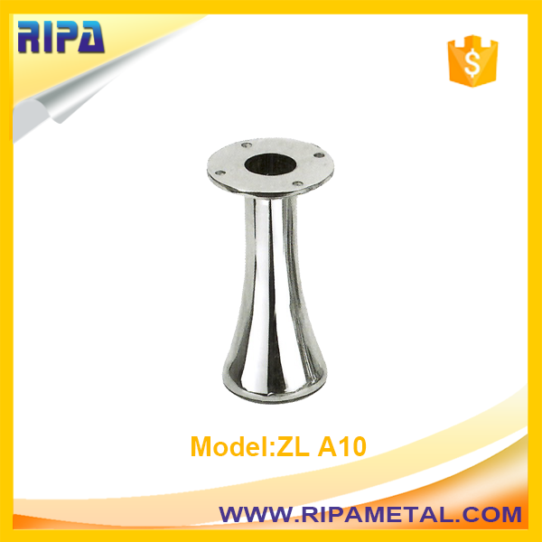 punch accessory metal sofa leg for furniture hardware
