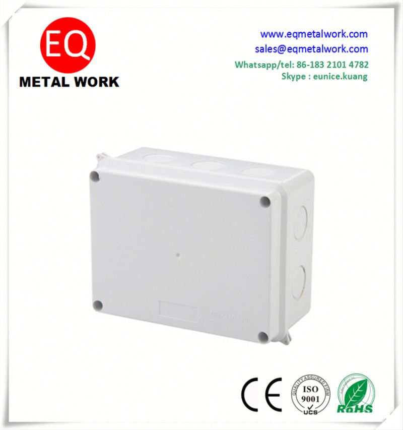 Aluminum electrical junction meter box ceiling electrical box cover