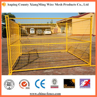 Strong and budget construction temporary fence for 2015 hot sale