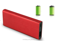 4000mAh ultra-slim power bank production manufacturer with torch portable mobile charger