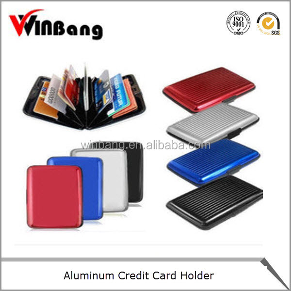 High Quality Waterproof Aluminium Credit Card Holder