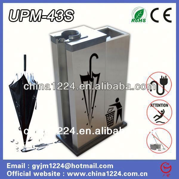 2014 Guangyuan cleaning equipment umbrella wrapper machine with recycling bin massage services in dubai