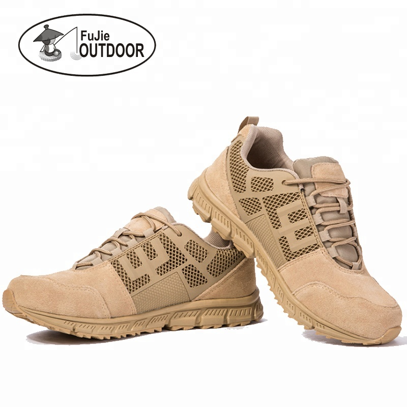 Mid Hiking <strong>Boots</strong> 5 Inch Outdoor Breathable Genuine Leather Tactical and Military <strong>boots</strong>
