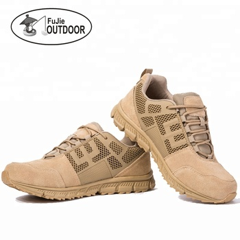 Mid Hiking Boots 5 Inch Outdoor Breathable Genuine Leather Tactical and Military boots