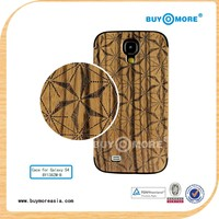 Bamboo case For samsung galaxy s4 /cover For Samsung Galaxy s4 Case Bamboo
