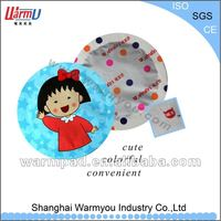 colorful promotional gift of hand warmer