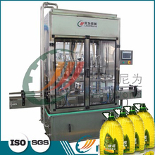 Food,Beverage,Machinery & Hardware Application and New Condition PET bottled Cooking Oil Filling