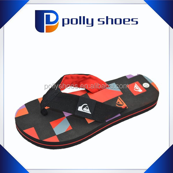 2016 fashion new eva skidproof woven strap sandals