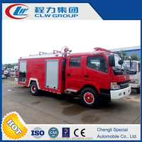 270HP 8T capcaity water tanker fire fighting truck for sale