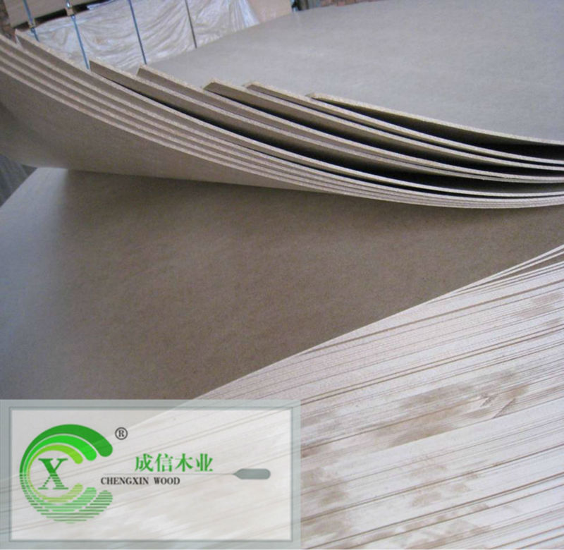 Eco-friendly high quality waterproof hardboard from manufacturer
