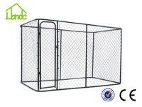 2015 new style comfortable large dog cage pet kennel dog kennel cage chain link dog kennel