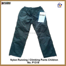 NYLON RUNNING PANTS CHILDREN TRICOT LINED RUNNING PANTS