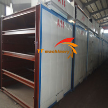 5Layer Belt Dryer for iron ore pellet drying with full expeirences