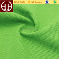 costom high performance single color pique fabric 32s 100%cotton pique for polo shirts of men