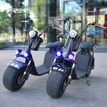 Coolest 1000W Electric Scooter Harley motorcycle fashion CITYCOCO with two seats / 2017 top quality Harley E Scooter S1