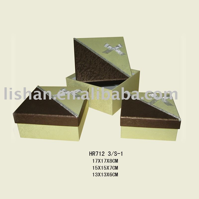 chocolate luxury cardboard box