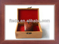 Wooden box package woooden 2.4gh wireless mouse