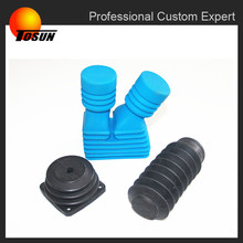 automobile custom epdm rubber bellow sleeve, rubber boot cover, protective bellow covers