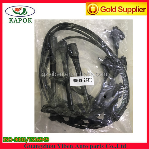 High Quality Ignition Cable Spark Plug Wire Set for For TOYOT A RAV 4 3S-FE 5S-FE OEM 90919-22370