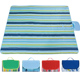 Lightweight easy to carry beach blanket anti sand strong waterproof high quality oxford camping picnic large outdoor mat