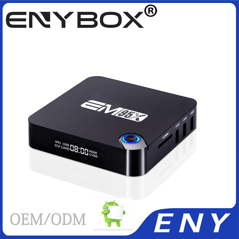 AV cable support S905X chip tv box os android6.0 quad core tv box
