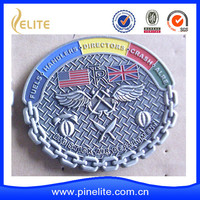 Manufacturer 2016 Hard imitation Enamel Navy ship coin for USA