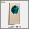 Smart Window Cell Phone Case Cover for Asus Zenfone 2 laser 5.5 ze550kl stand leather phone case