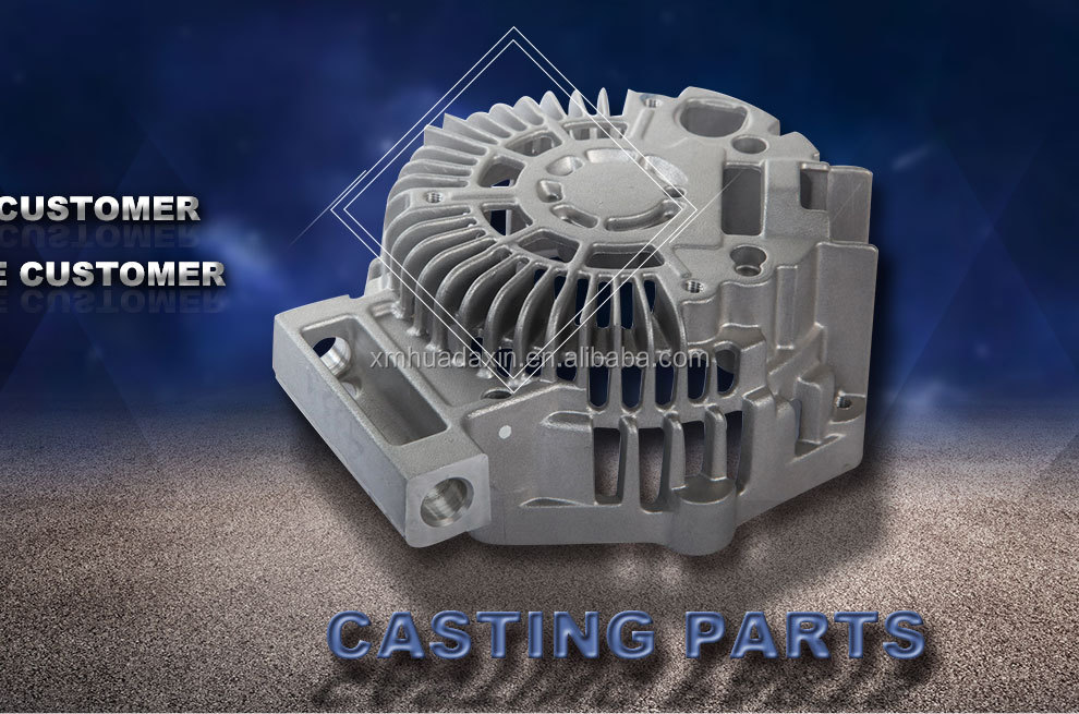 OEM Customized Precision Aluminium Die Casting Auto Parts