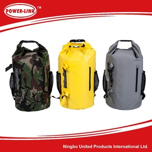 PVC Waterproof cooler bag backpack,custom foldable backpack Beach bags