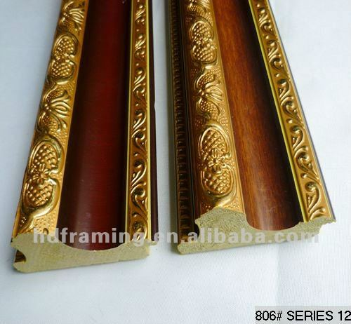 high quality ps fhoto frame moulding home decorative moulding China