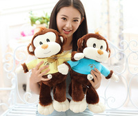 Hot Sale 55cm Height Cuttest Stuffed Plush Monkey Toy As Birthday Party Decorations,CZB-049 Plush Stuffed Soft Monkey