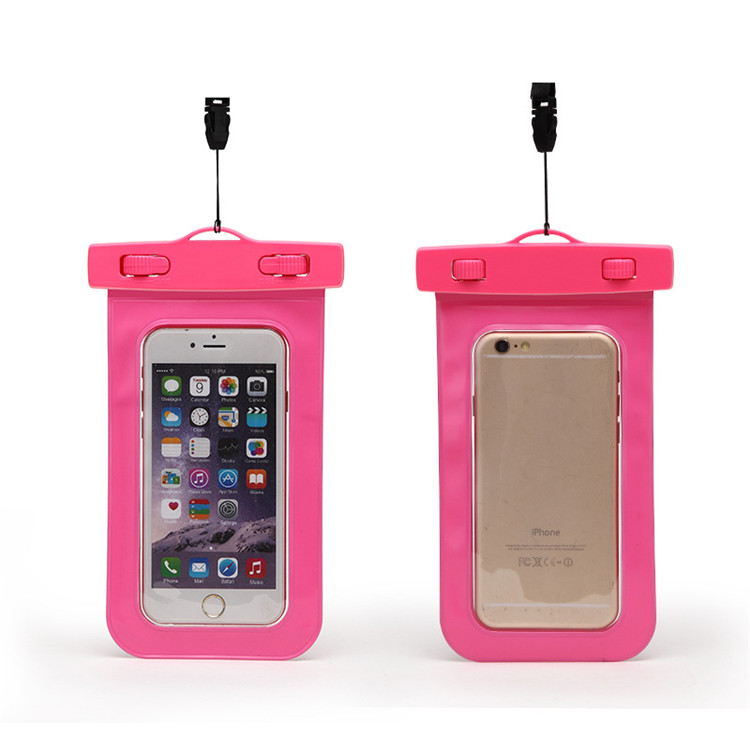 2017 Mobile Phone Pvc Universal Waterproof Phone Bag For iphone 8