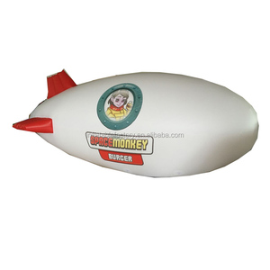 Custom made helium blimp balloon inflatable zeppelin helium balloon